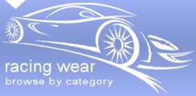 Racing wear and racing clothes - auto fan jackets, auto fan t-shirts, auto fan vests