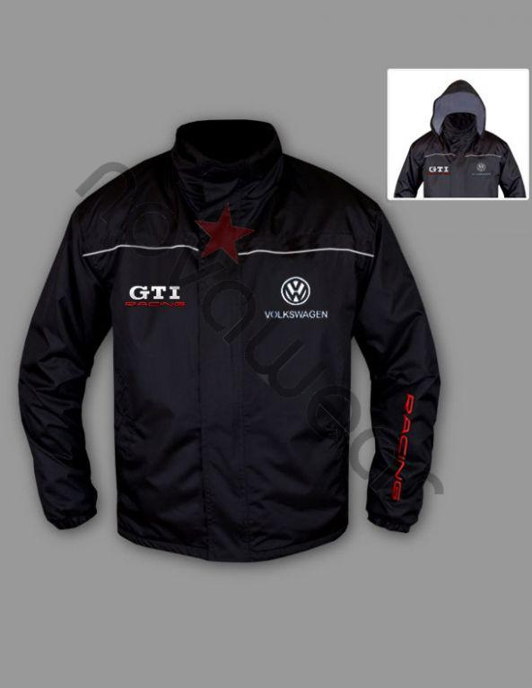 VW GTI Windbreaker Jacket-VW Merchandise, VW Caps, VW Clothes