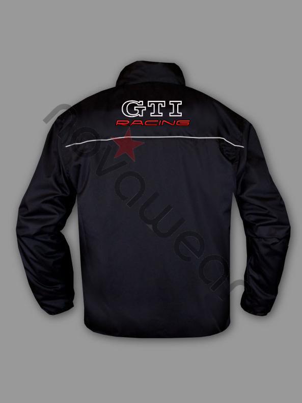 VW GTI Windbreaker Jacket-VW Merchandise, VW Caps, VW Clothes