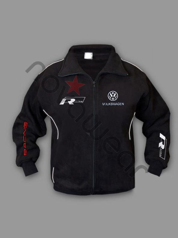 Volkswagen R Line Fleece Jacket-VW Merchandise, VW Caps, VW Clothes