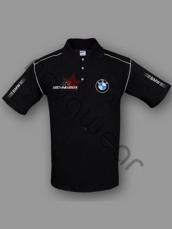Bmw Ac Schnitzer Polo Shirt Black Bmw Jackets Bmw Clothes
