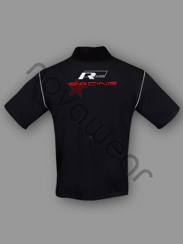 volkswagen   polo shirt schwarz vw jacken volkswagen zubehoe