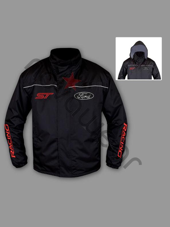 Ford ST Windbreaker Jacket-Ford ST Clothing, Ford Merchandise
