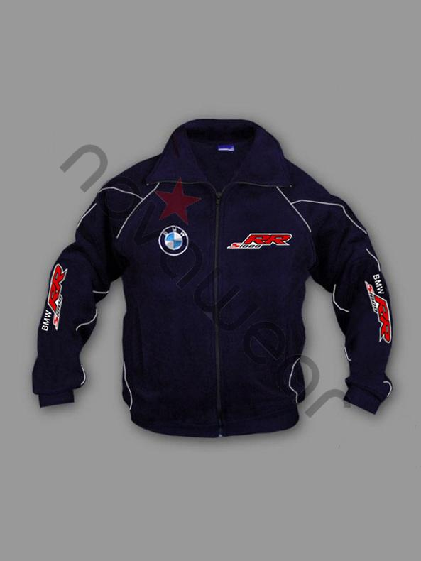Bmw S1000rr Moto Fan Fleece Jacket Bmw Merchandise Bmw