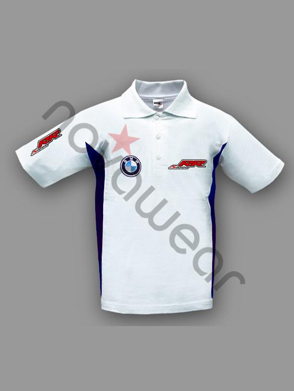 Bmw S1000rr Moto Fan Polo Shirt White Bmw Merchandise Bmw