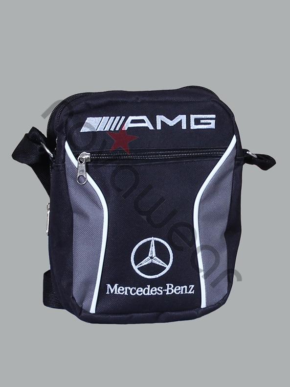 Mercedes Benz Logo >> Mercedes AMG Sport Shoulder Bag-Mercedes Merchandise