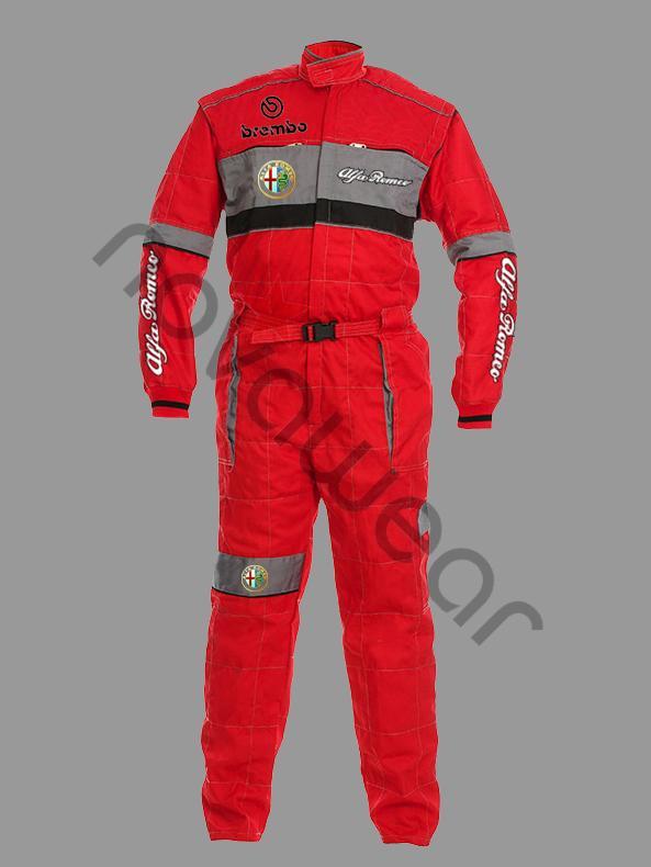 Alfa Romeo Workwear Overall Alfa Romeo Apparel Alfa Romeo