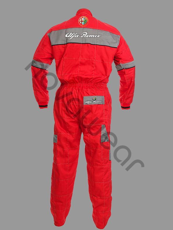 Alfa Romeo Workwear OverallAlfa Romeo Apparel Alfa Romeo Workwear Ov - Alfa romeo apparel