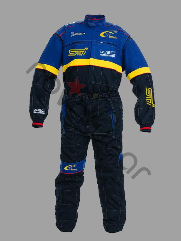 Subaru Rally Team Workwear Overall Subaru Team Apparel