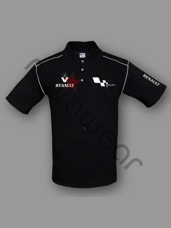 Visa Credit Card Login >> Renault Sport Team Polo Shirt