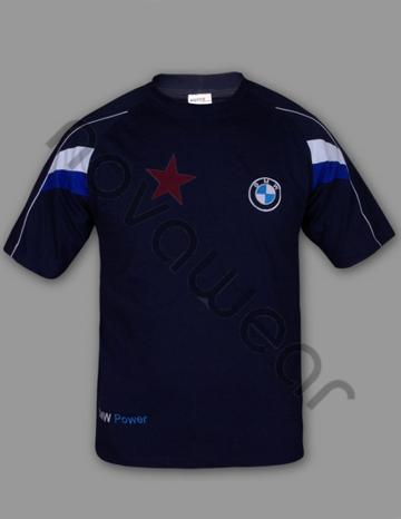 bmw t shirt blau bmw zubeh r bmw bekleidung. Black Bedroom Furniture Sets. Home Design Ideas