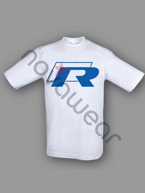 Vw Credit Login >> VW R Line Printed T-Shirt White-VW R Line Accessories, Volkswagen R Li