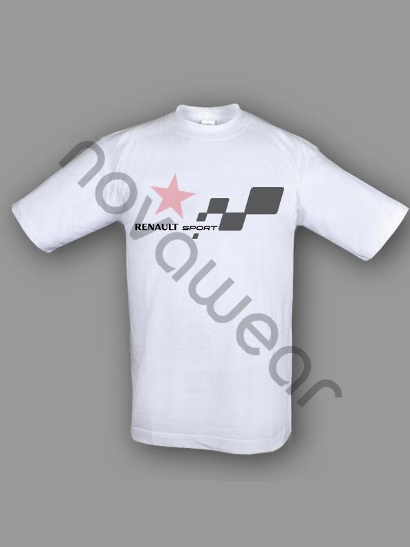 renault sport team gedruckte t shirt. Black Bedroom Furniture Sets. Home Design Ideas