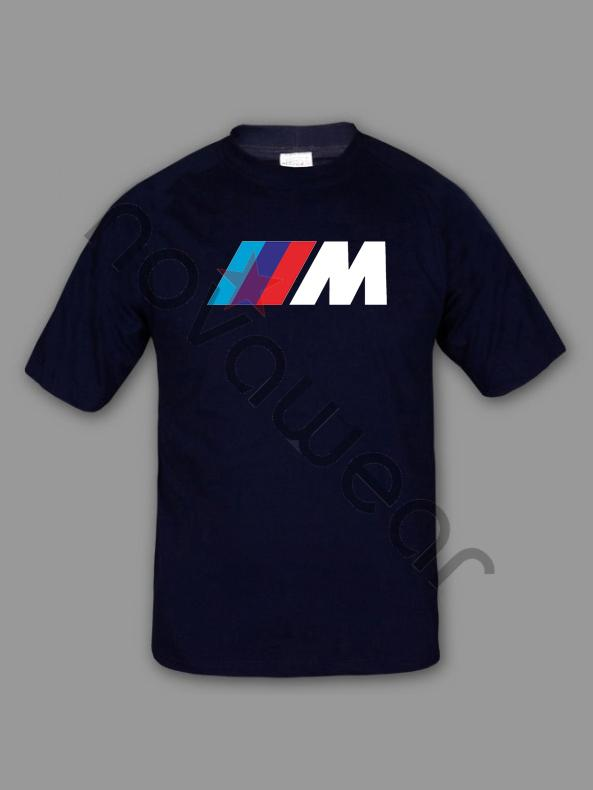 Bmw M Power T Shirt Blue Bmw M Power Accessories Bmw M
