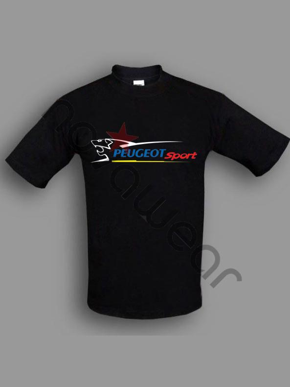 peugeot sport t shirt black peugeot sport accessories peugeot sport c. Black Bedroom Furniture Sets. Home Design Ideas