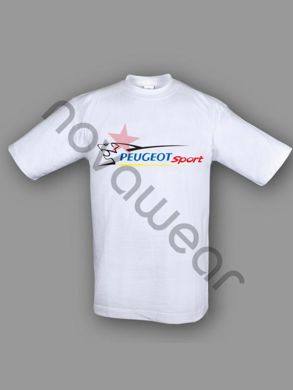 peugeot sport t shirt white peugeot sport accessories peugeot sport c. Black Bedroom Furniture Sets. Home Design Ideas