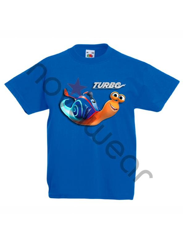 Turbo Kids Printed T-Shirt