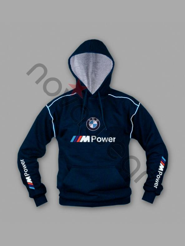 Bmw Sweatshirt Gray Blue Bmw M Power Jackets Bmw M Power