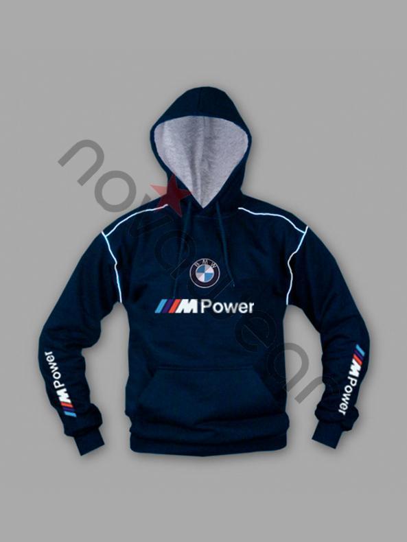 Bmw Sweatshirt Gray Blue Bmw M Power Jackets Bmw M Power