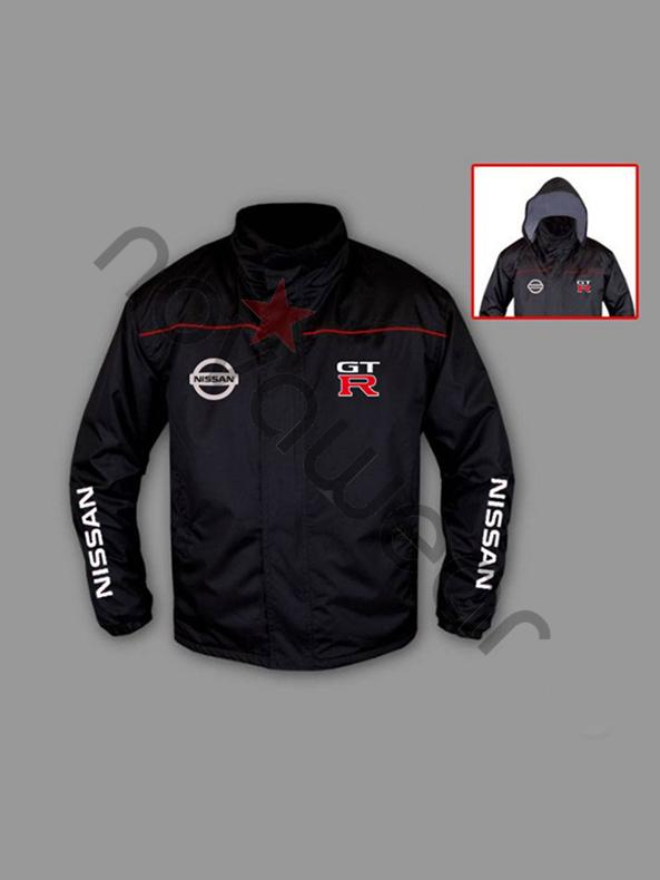 Nissan Floor Mats >> Nissan GTR Windbreaker Jacket-Nissan GTR Apparel, Nissan T-Shirts