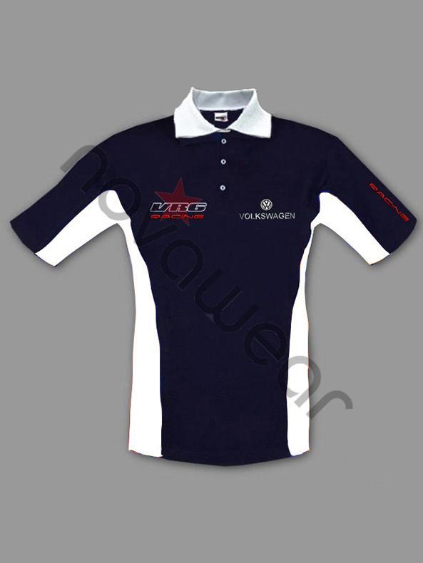 Volkswagen VR6 Polo Shirt-VW Shirts, VW Clothing, VW Apparel