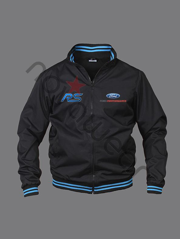 Visa Credit Card Login >> Ford RS Bomber Jacket Black-Ford Clothing, Ford RS embroidered Merchan