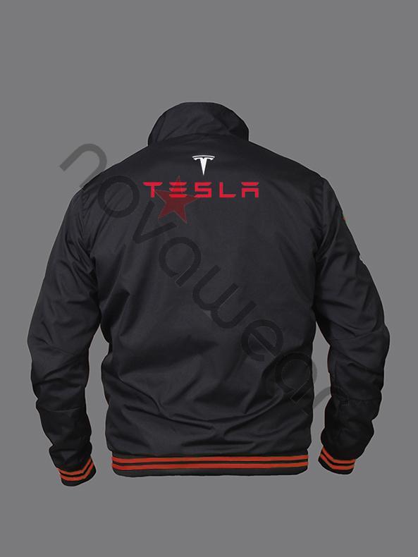 Tesla Energie Bomber Jacket Tesla Energie Merchandise