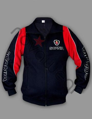 Visa Credit Card Login >> Scania Fleece Jacket-Scania Clothing, Scania Merchandise