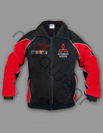 Mitsubishi Fleece Jacket Mitsubishi Clothing Mitsubishi
