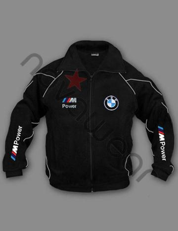 Bmw M Power Fleece Jacket Black Bmw Accessories Bmw Clothing