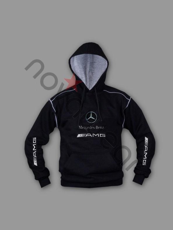 Mercedes Benz Logo >> Mercedes AMG Kapuzenjacke- Mercedes AMG Bekleidung, Mercedes Zubeh&