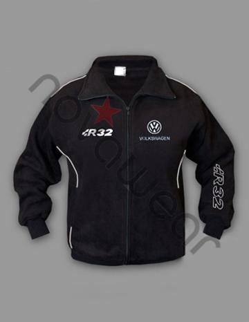 volkswagen r32 fleece jacket vw accessories vw clothing. Black Bedroom Furniture Sets. Home Design Ideas