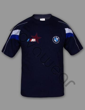 Bmw M Power T Shirt Blue Bmw Accessories Bmw Clothing
