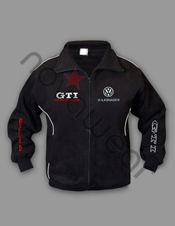 Volkswagen GTI Fleece Jacket-VW Merchandise, VW Caps, VW Clothes