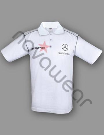 mercedes amg polo shirt white mercedes apparel mercedes accessories. Black Bedroom Furniture Sets. Home Design Ideas