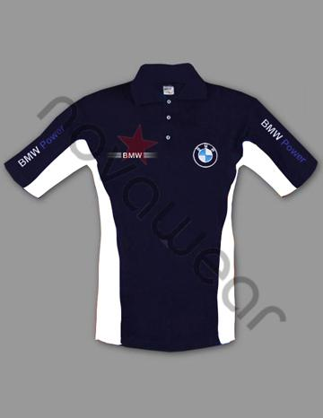 Bmw Polo Shirt Blue Bmw Merchandise Bmw Accessories